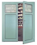 Алюминиевая дверь многоцелевого назначения MZA
