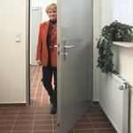 Стальная защитная дверь E45-1/E45-2